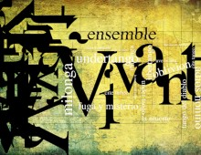 Ensemble Vivant type design