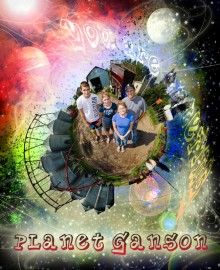 Planet Ganson Poster