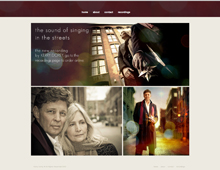 Kerry Dorey website design
