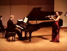 Leslie Newman in Recital, University of Toronto